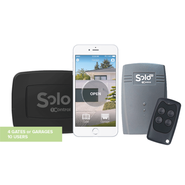 1Control SOLO + SOLO KIT für iPhone und Android Smartphone (Bundle)