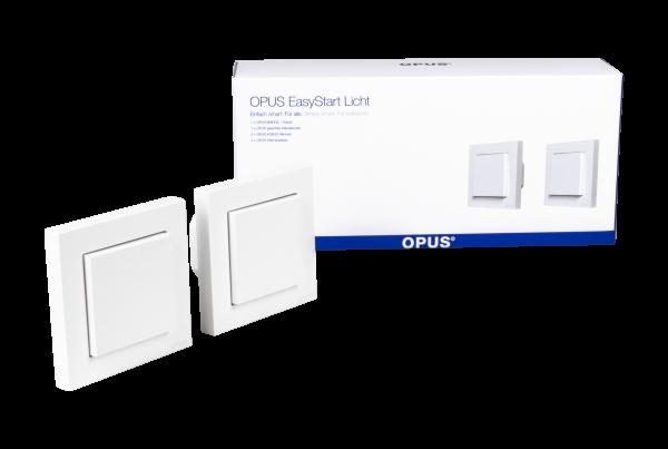 OPUS EasyStart Licht - Zusätzlicher Lichtschalter polarweiß