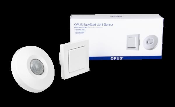OPUS EasyStart Licht - Anwesenheitsorientierte Beleuchtung polarweiß
