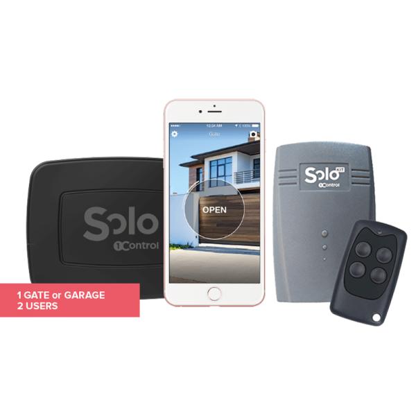 1Control SOLO MINI + SOLO KIT - Öffner für Garagen und Tore (Bundle)