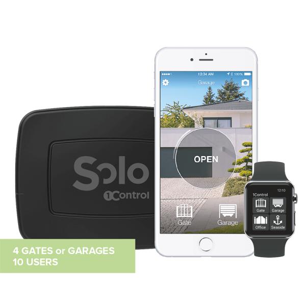 1Control SOLO - Öffner für Garage Bluetooth LE 4 für iPhone und Android Smartphone