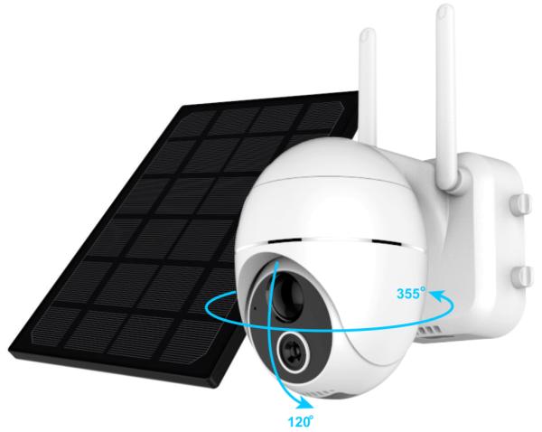 HiKam R9 1080p Outdoor Kamera inkl. Solar-Pannel